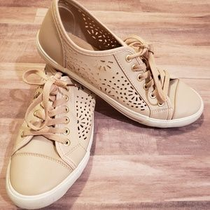 Restricted Shoes - Restricted Pale Pink Tennis Sneaker